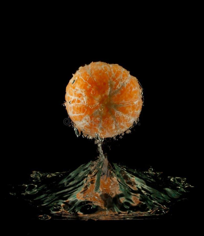 померанцовая вода стоковая фотография
