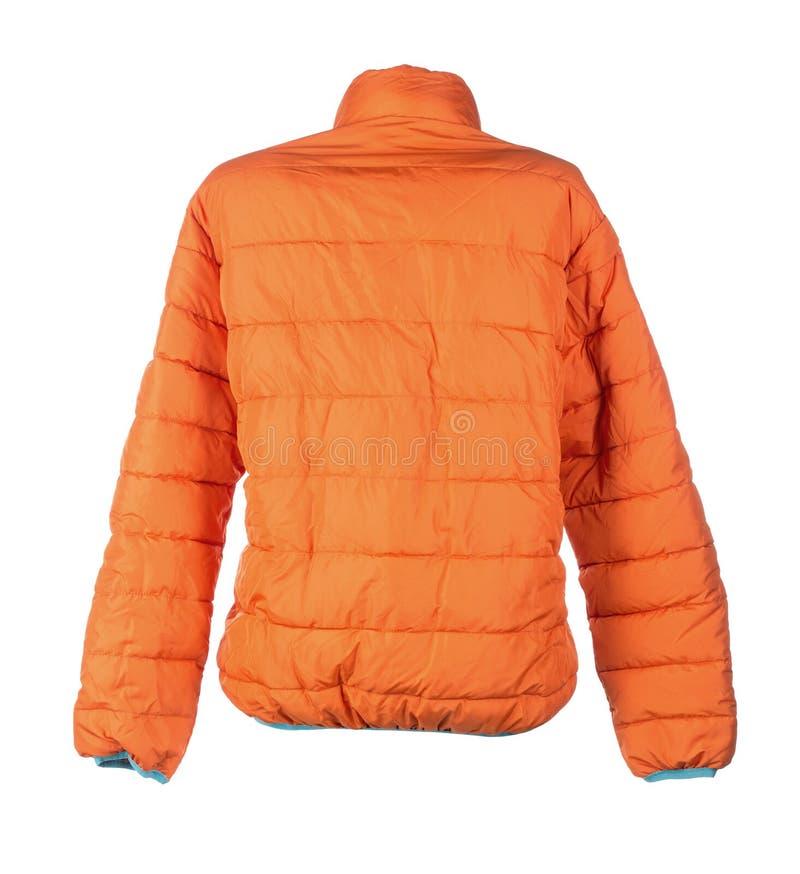 Померанцовая куртка стоковые изображения