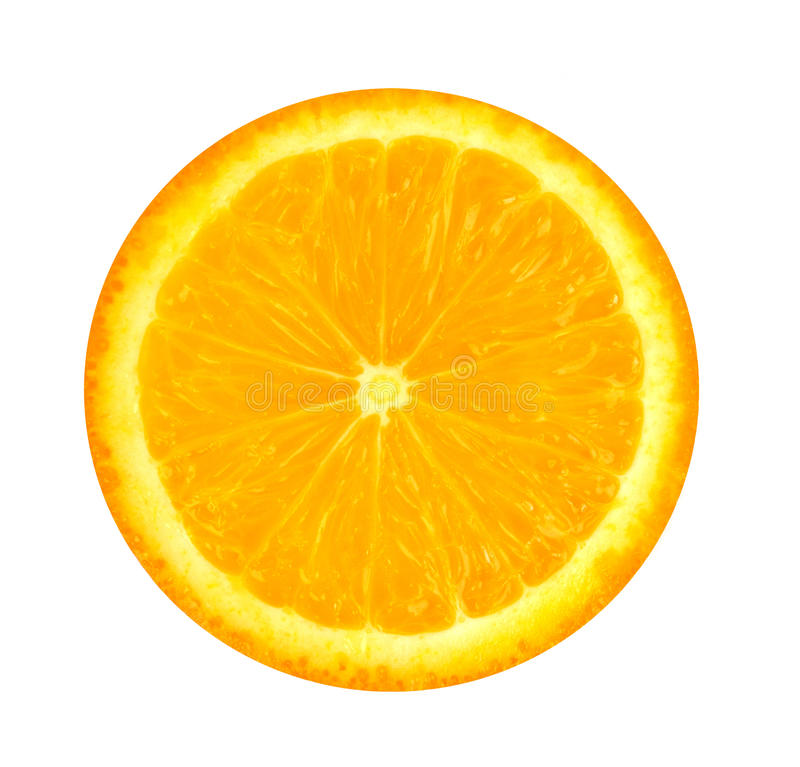 померанцовый ломтик стоковое изображение rf