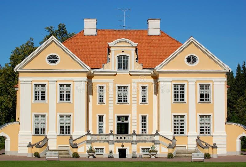 поместье эстонии стоковая фотография rf