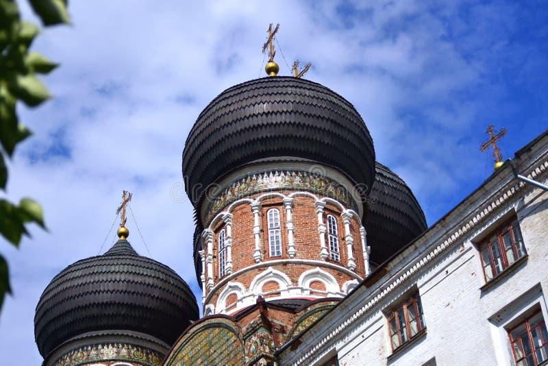Поместье Izmailovo в Москве квадрат moscow красный России intercession собора стоковое изображение rf