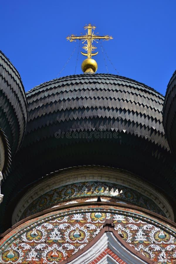 Поместье Izmailovo в Москве квадрат moscow красный России intercession собора стоковая фотография rf