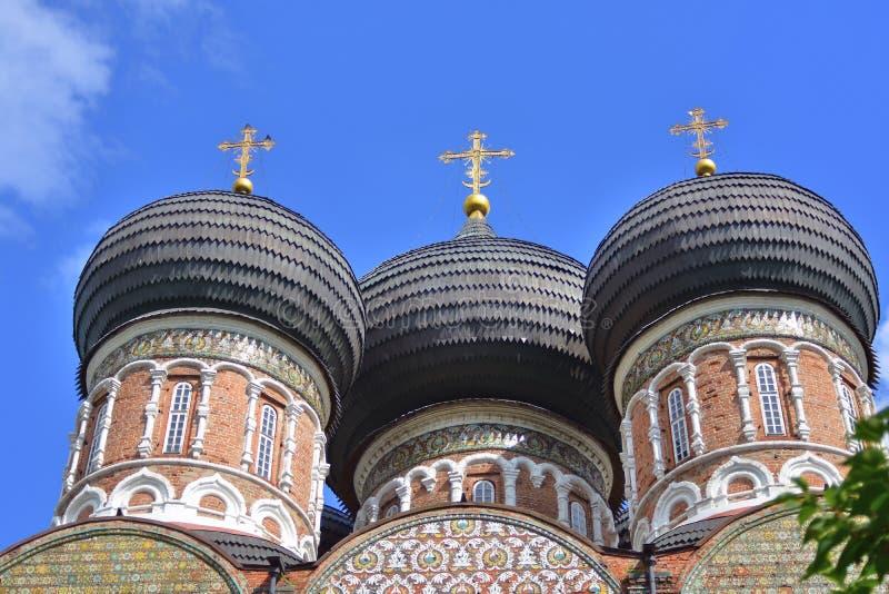 Поместье Izmailovo в Москве квадрат moscow красный России intercession собора стоковые фото