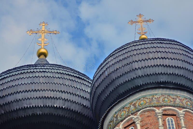 Поместье Izmailovo в Москве квадрат moscow красный России intercession собора стоковые изображения