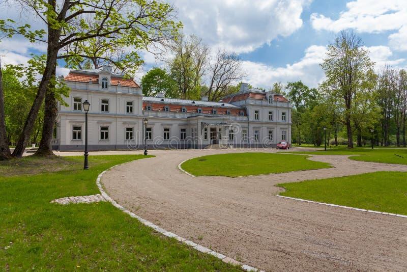 Поместье Zypliai стоковое изображение