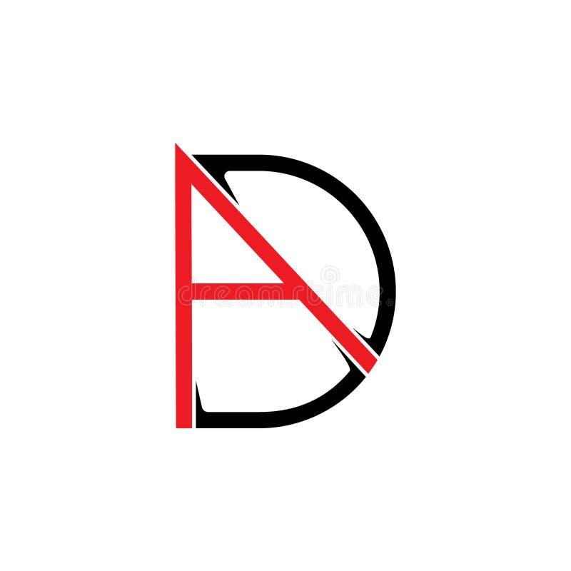Помечает буквами вектор логотипа формы стрелки объявления бесплатная иллюстрация