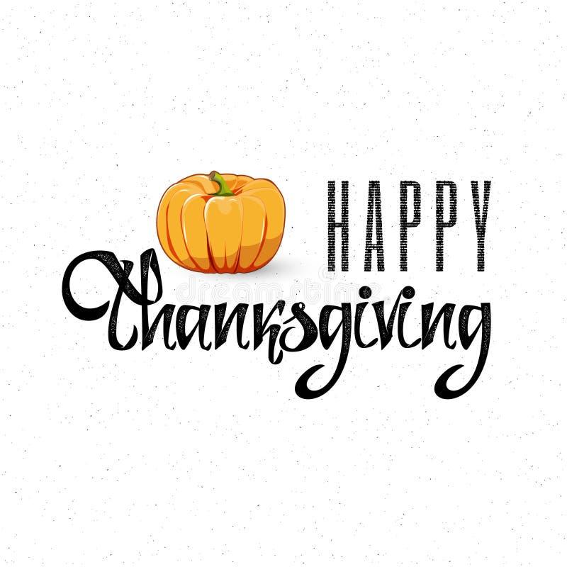 Помечать буквами логотип, значок и значок официальный праздник в США в память первых колонистов Массачусетса стиля счастливые Сча бесплатная иллюстрация