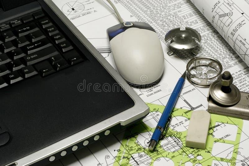 помогать конструкция компьютера стоковое изображение rf