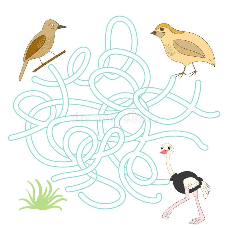 Помогите встретить друзей в игре ребенка луга бесплатная иллюстрация