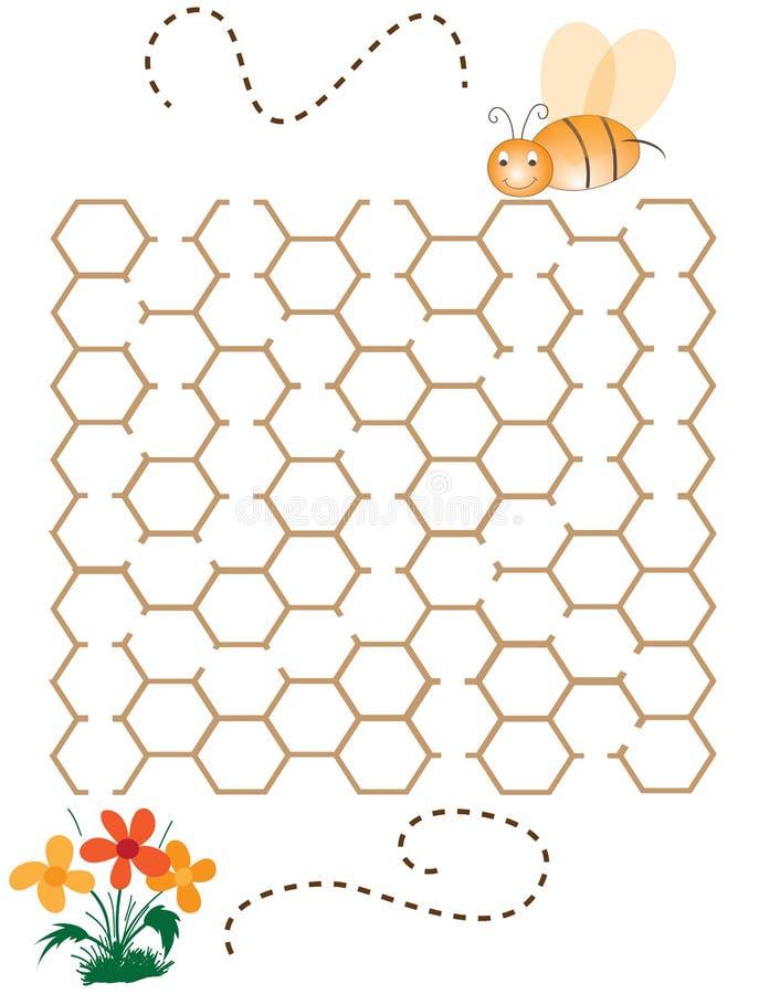 Помогите пчеле стоковая фотография