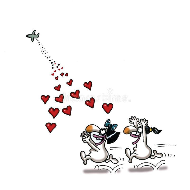 Помощь влюбленности бесплатная иллюстрация