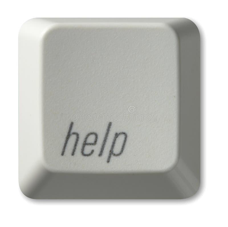 помощь кнопки стоковые фото