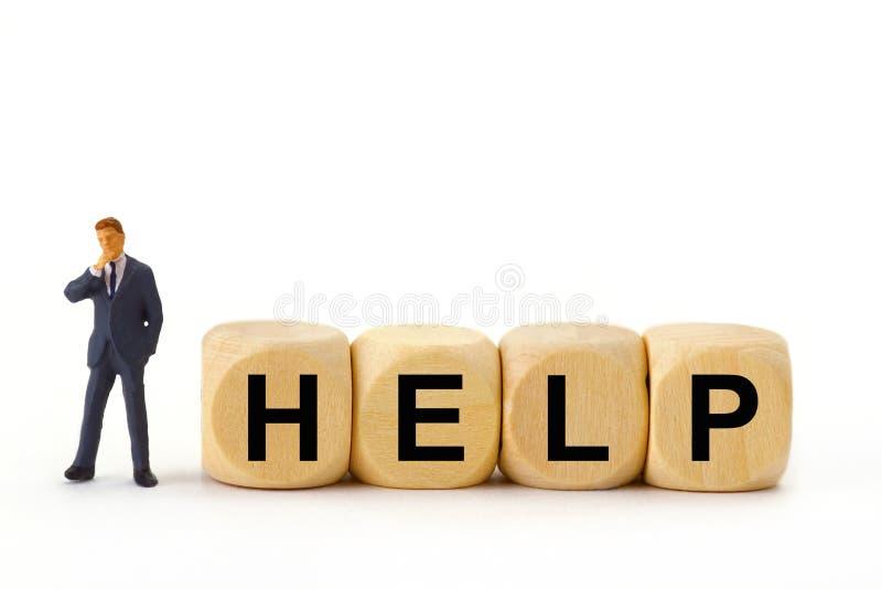 Помощь стоковая фотография rf