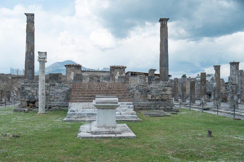 Помпеи Италия стоковая фотография