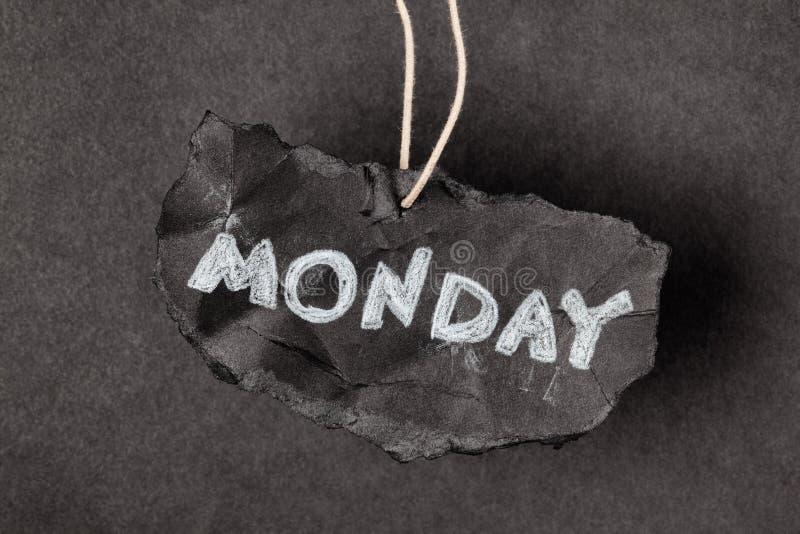 Понедельник снова стоковые фотографии rf