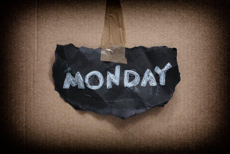 Понедельник снова стоковые изображения rf