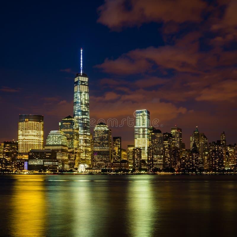 Понизьте Манхаттан, Нью-Йорк, США стоковая фотография