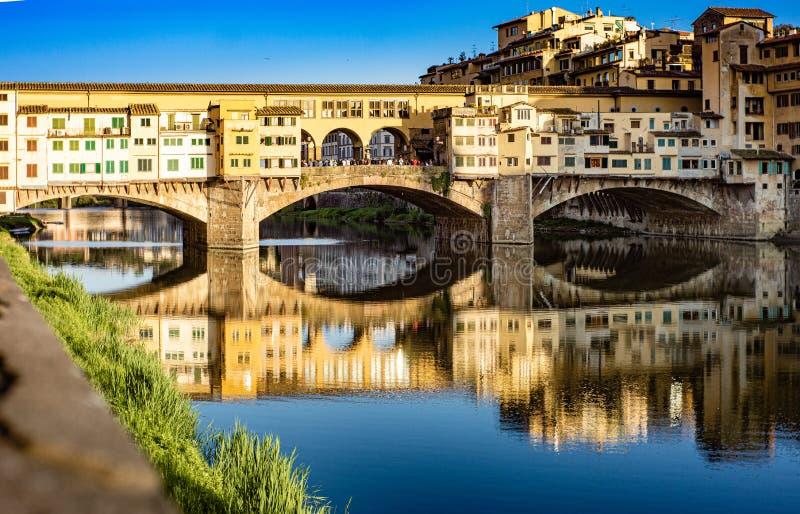 Понте-Веккьо-Флоренс стоковое фото