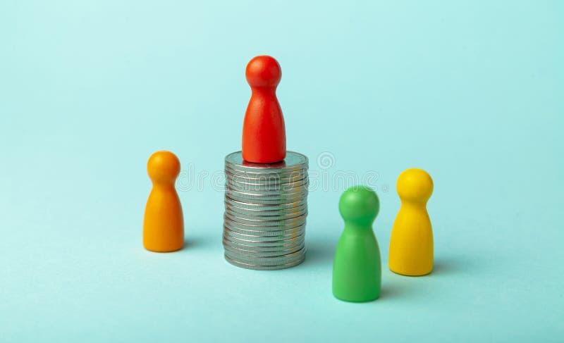 Понятие 'большой зарплаты' и 'заработок' - высокая прибыльность стоковые фото