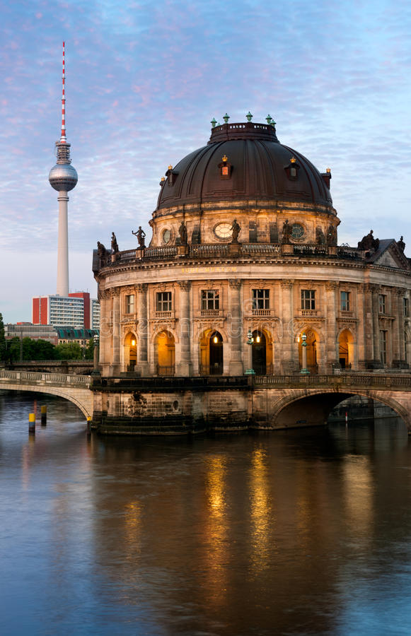 Пообещанный музей в Берлине стоковые изображения rf