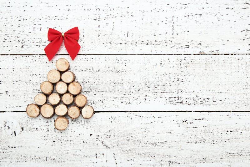 Поперечные сечения в форме рождественской елки стоковые фото