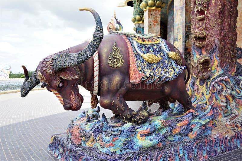 Попечитель Kwai Tanu волшебный Buffao святилища стоковое фото