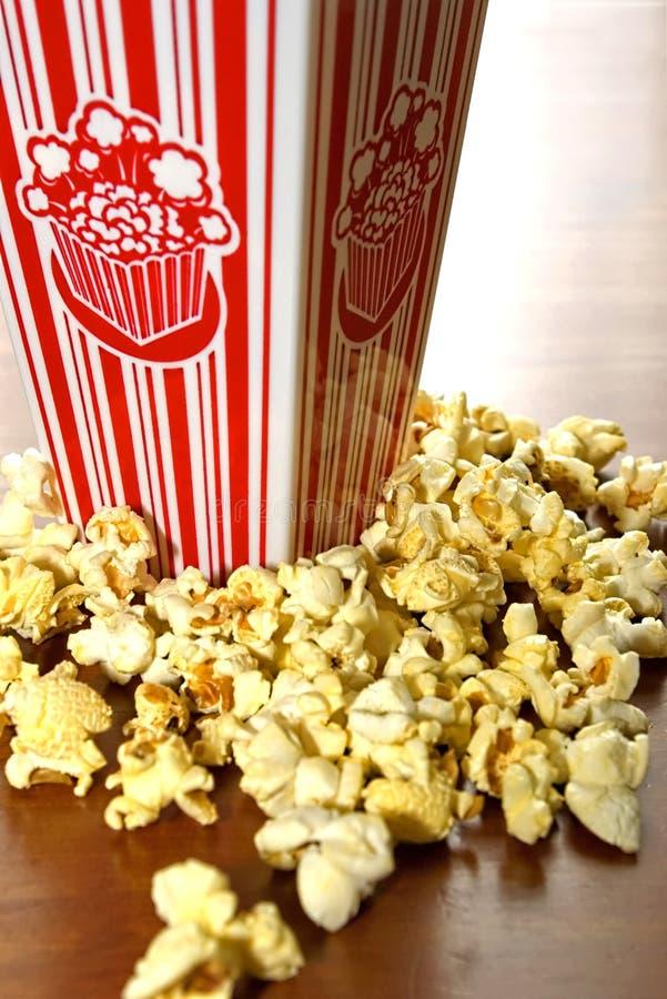 попкорн кино стоковое фото rf