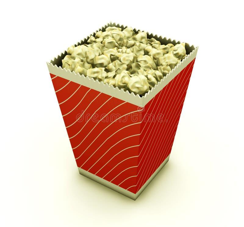 попкорн иллюстрация вектора