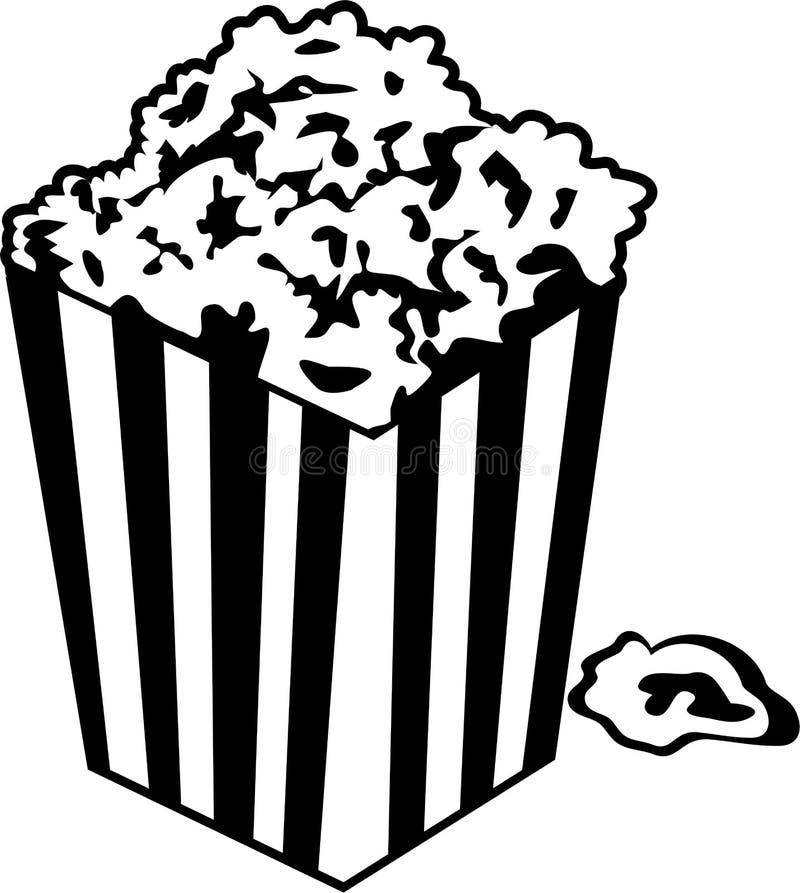 попкорн иллюстрация штока