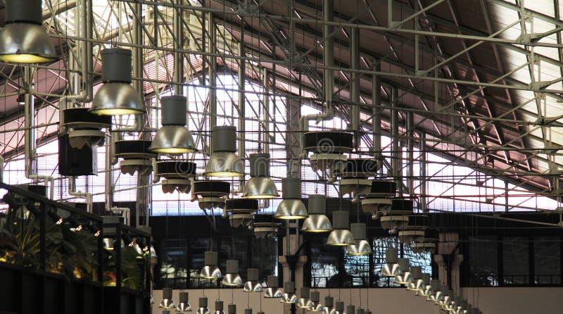 Популярная крыша рынка стоковая фотография rf