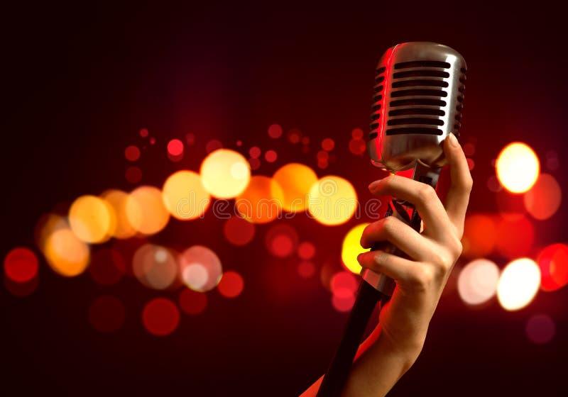 популярная певица стоковое фото rf