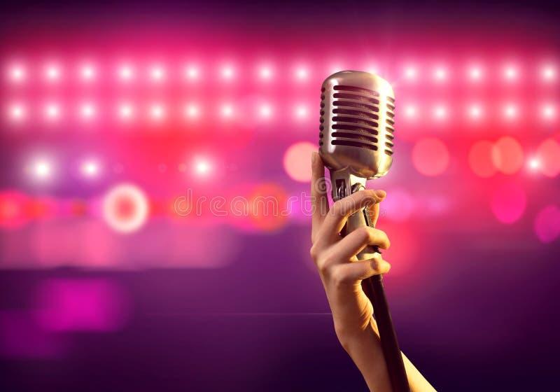 популярная певица стоковые фото
