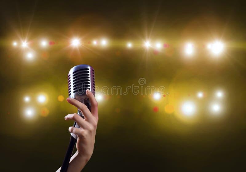 популярная певица стоковые фотографии rf