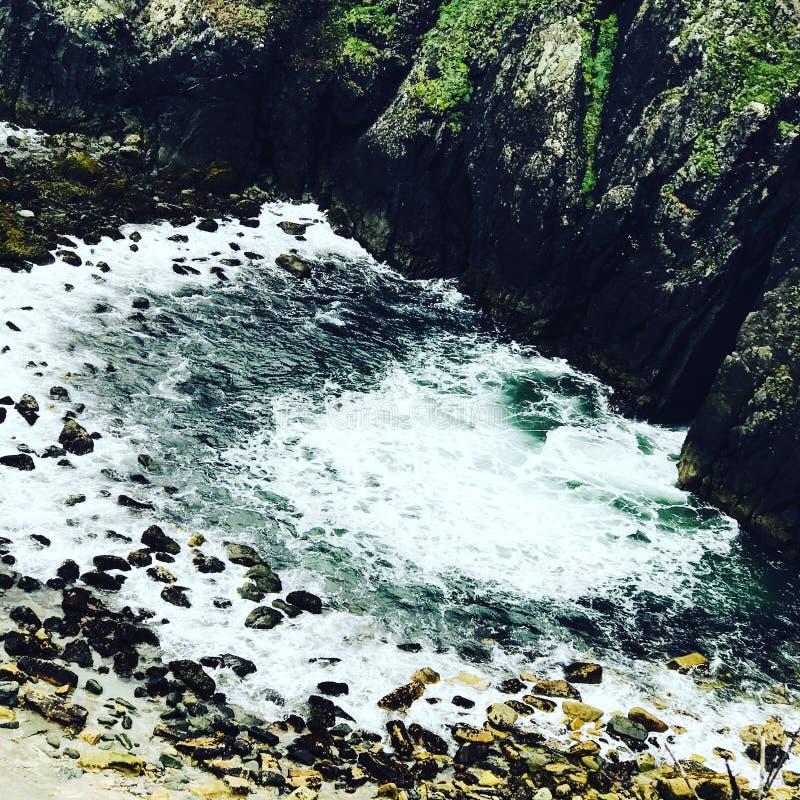 поплавайте вдоль побережья Орегон стоковое фото