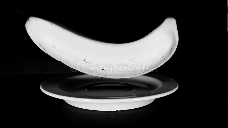 Поплавок банана стоковое изображение rf