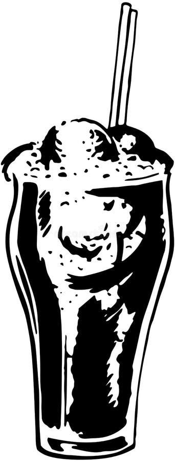 Поплавок кокса иллюстрация штока