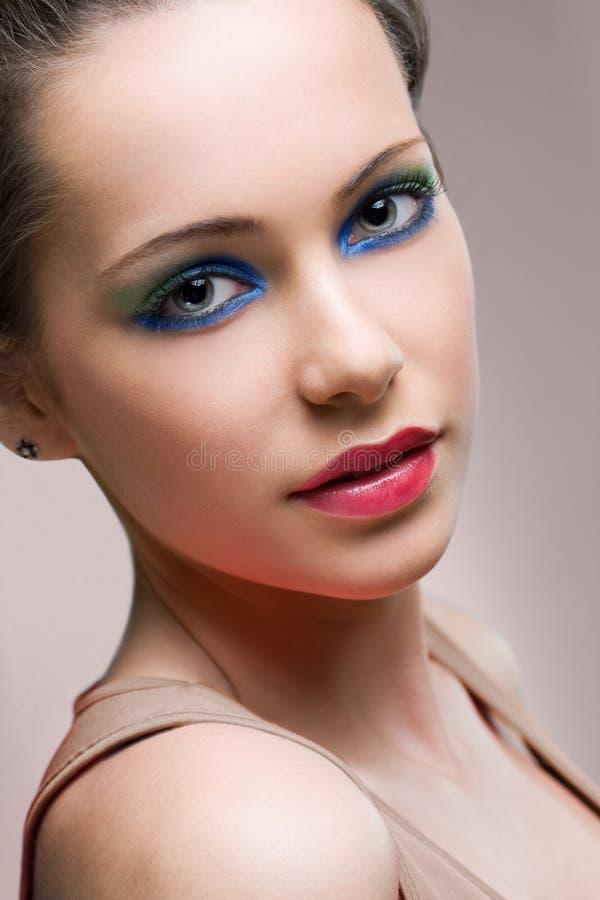 Поразительный портрет красотки. стоковые фотографии rf