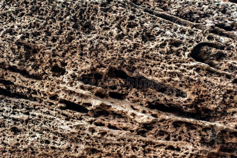 Пористый, минеральный камень Абстрактная предпосылка с каменной текстурой стоковое фото rf