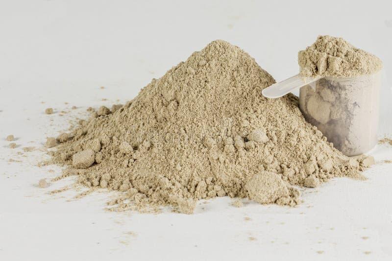 Порошок протеина стоковая фотография