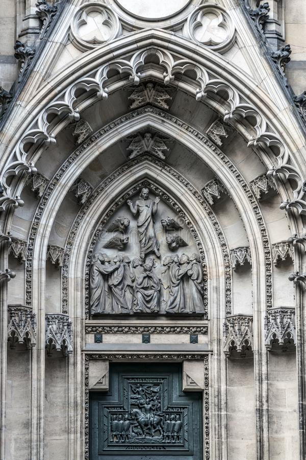 Портал восхождения Христоса к раю стоковая фотография