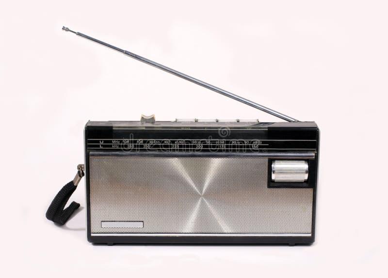 портативное радио ретро стоковая фотография