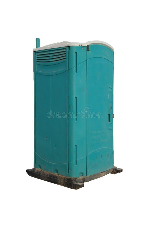 Портативный туалет стоковое фото rf