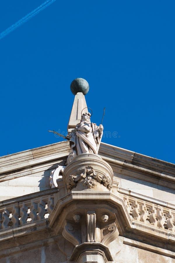 Портик двери прощения, собора Toledo стоковая фотография rf