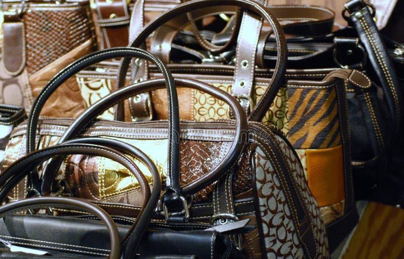 портмона сумок дисплея стоковое фото