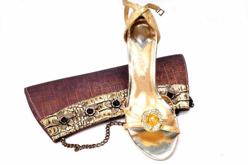 портмоне повелительниц обуви стоковые фото