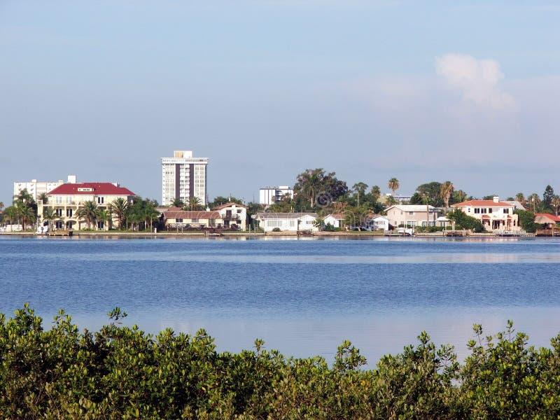 портовый район взгляда стоковое изображение