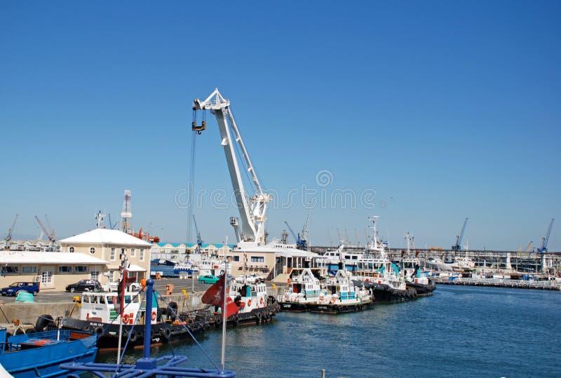 Портовый район Виктории и Альфреда, Кейптаун, Южная Африка стоковое фото