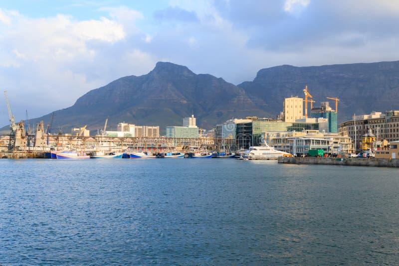 Портовый район Виктории и Альфреда, Кейптаун, Южная Африка стоковое изображение