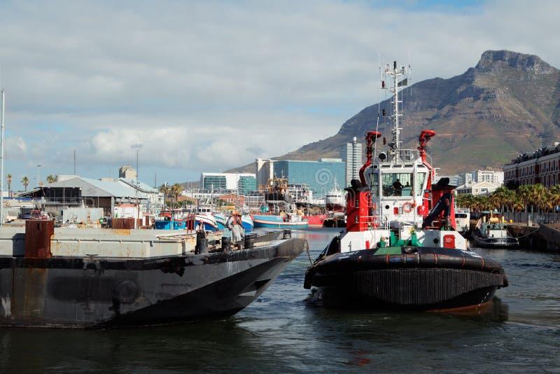 Портовый район Виктории и Альфреда - Кейптаун стоковые изображения