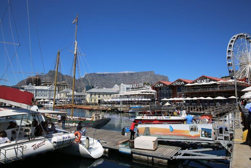 Портовый район в Кейптауне стоковые изображения